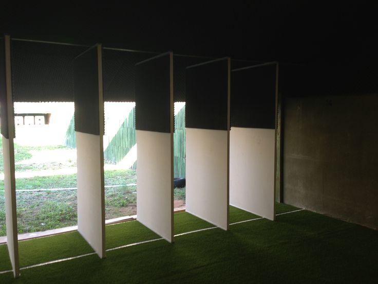 Insonorización campo de tiro en Palma