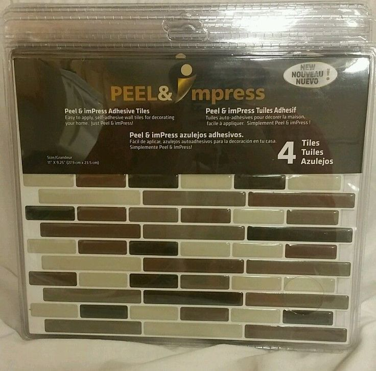 Peel and impress Self adhesive vinyl wall tiles back splash Soft Comfort in Home & Garden, Home Décor, Tile Art | eBay