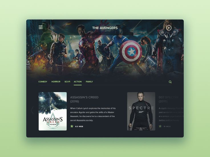 TV App by Sergiu Radu