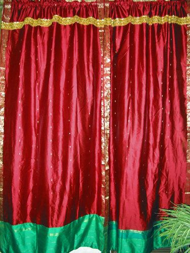 17 Best Images About Indian Sari Curtain On Pinterest