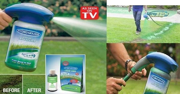 With Hydro Mousse You Can Easily Go From Seed To Sod Just Like The