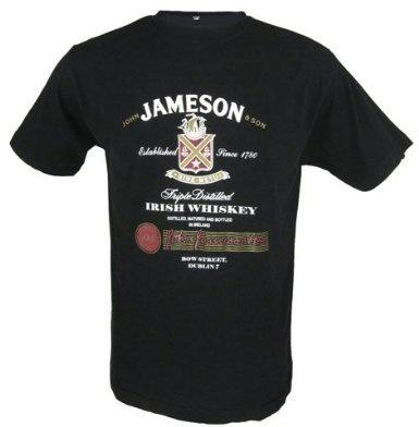 Malham Jameson Whiskey T-Shirt: Amazon.com: Clothing