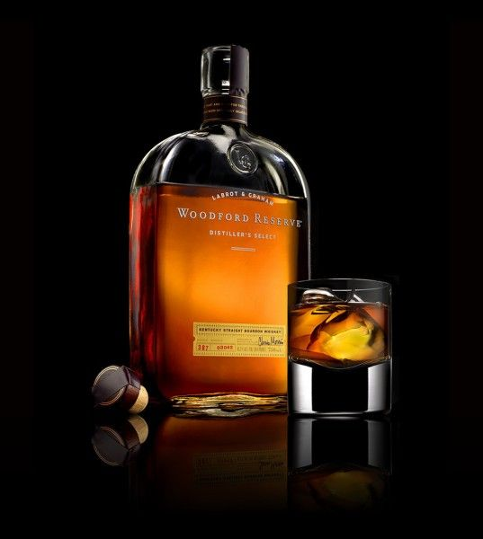 Woodford Reserve Bourbon Whiskey. This one people either seem to love or hate. I still think it's pretty nice.