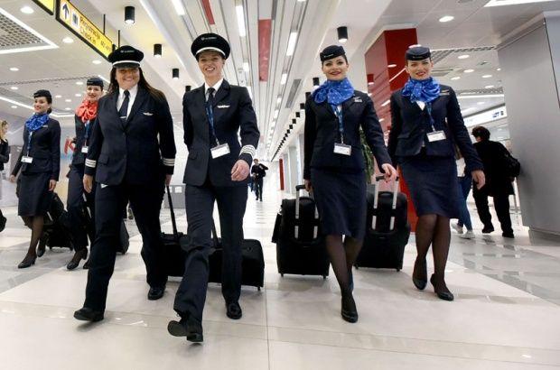 Foto P.Milošević, Air Serbia completely female crew, from Captains Vesna Aleksic and Mirjana Stojiljkovic, Belgrade Paris.:)