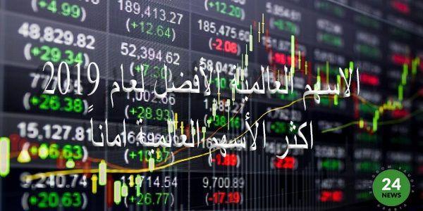 أفضل الاسهم العالمية لعام 2019 اكثر الأسهم العالمية امانا Cannon