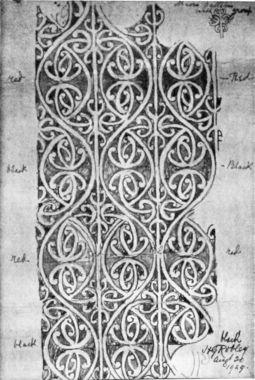 177c. [Maori rafter design] Canterbury Museum