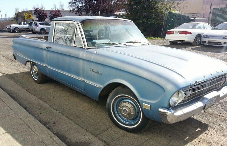 Pickup Car? 1961 Ford Ranchero - http://barnfinds.com/pickup-car-1961-ford-ranchero/