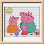 SCHEMI PEPPA PIG - Idee a Punto Croce