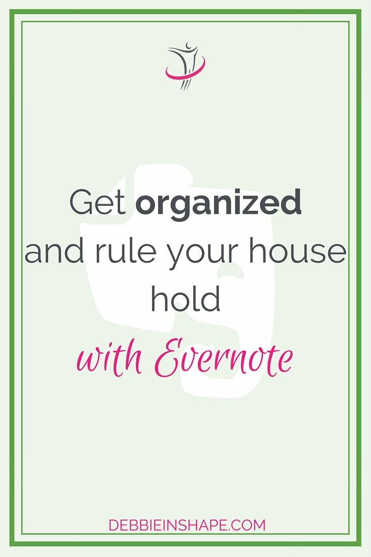 Evernote is an amazing tool. It's perfect for everything productivity, including get yourself AND home organized. Want to know how? Check my blog today. Make sure you download Daily Planning Checklist and join my VIP Tribe FOR FREE to access all my extra content, including exclusive Evernote templates.