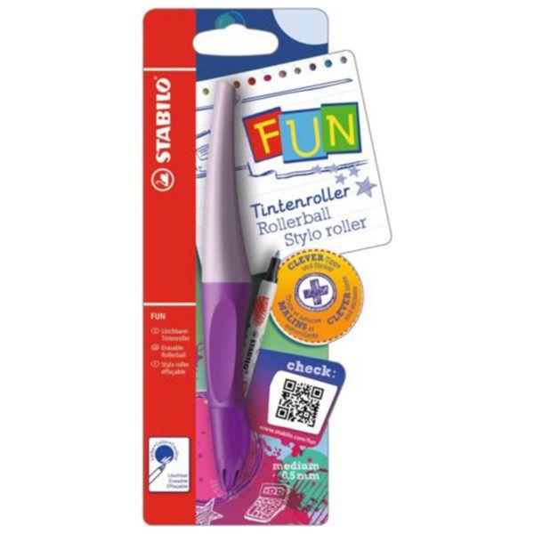 STABILO FUN Rollerball Ergonomic Pen 0.5 mm Pink Girl (9227-1)