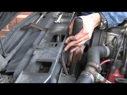 Procedure for Timing belt change for Volvo 360 Part 1 - Removal - http://www.thehowto.info/procedure-for-timing-belt-change-for-volvo-360-part-1-removal/