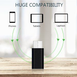 Type-C to Micro USB Adapter: Fast Charging and Quick Data Transfer