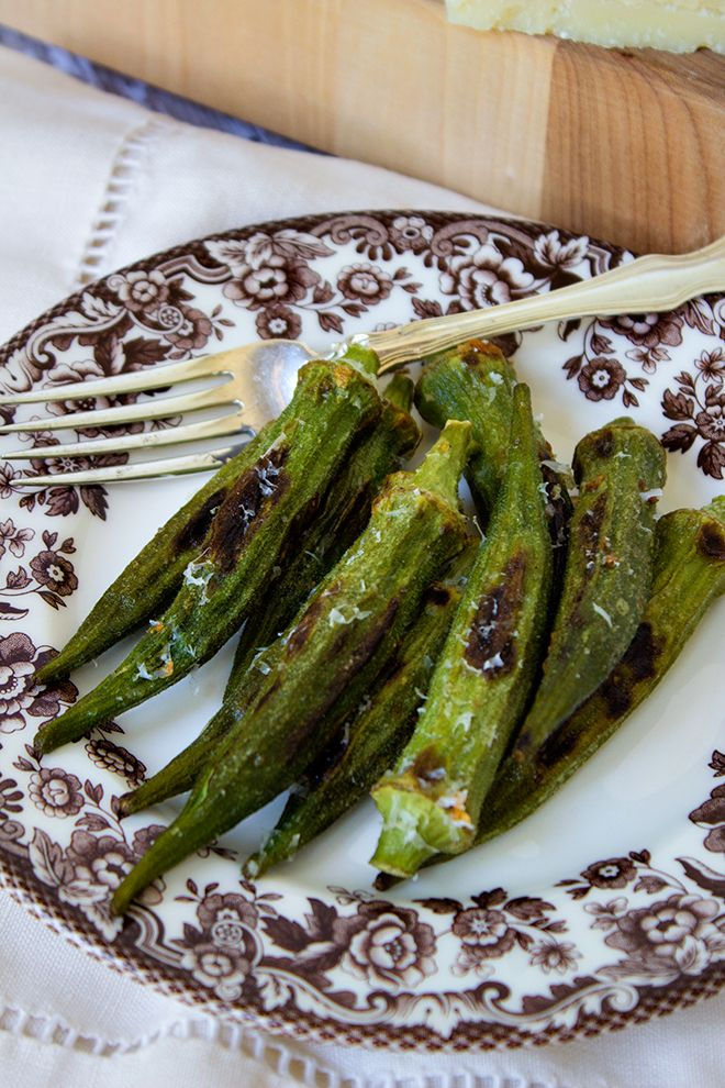 how to fix okra in the oven