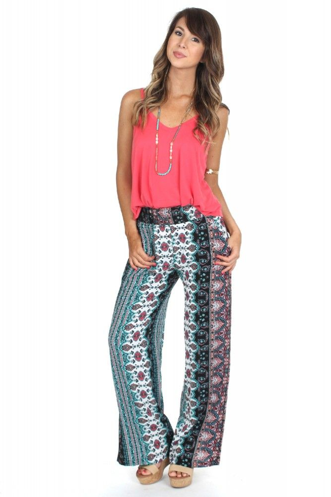 Let Loose Print Pants Coral ($19.99) #sophieandtrey #weshipfree #freeshipping #boutique #affordable #clothing #attire #clothes #cheap #preppy #casual #formal #dressy #boho #edgy #backtoschool #sorority #homecoming #social #formal #prom #cute #clothing #ootd  #pants #printed #patterened #summer #print #cutepants #cheap pants