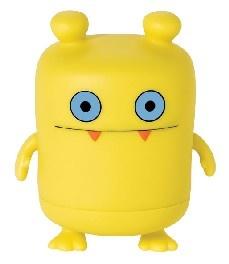 A cute UglyDolls action figure