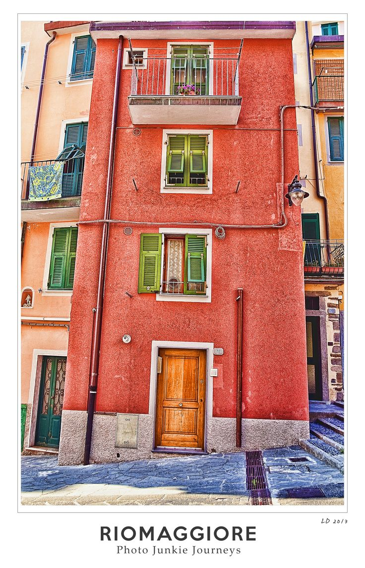 Colours of Riomaggiore - Cinque terre