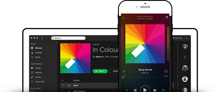 O Spotify tem músicas para sua vida inteira