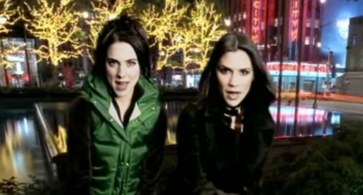 Watch Victoria Beckham Join Mel C to Sing '2 Become 1' for a Mini Spice Girls Reunion  When Mel C performed at Victoria and David Beckham's New Year's Eve party in the Maldives she tried enticing her former bandmate on stage by singing a Spice Girls classic -- and it totally worked.
