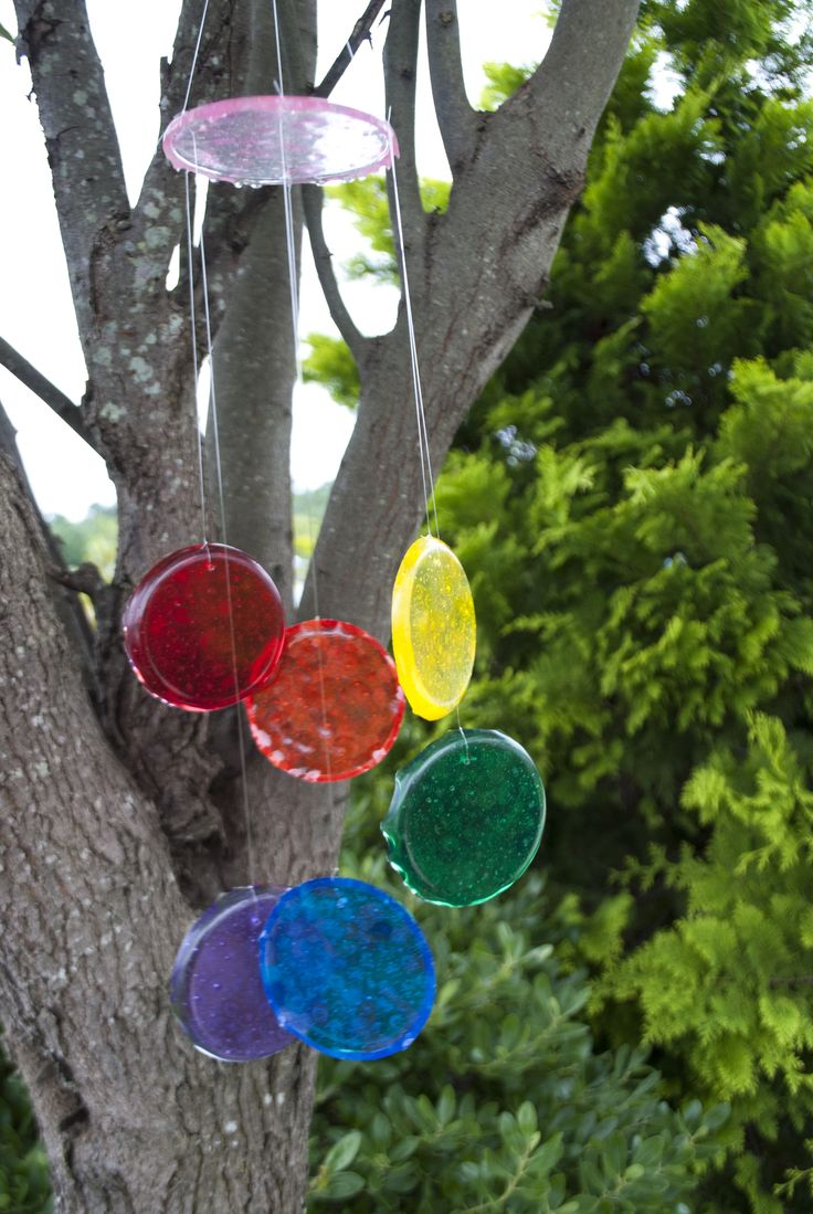 Pony Bead Suncatcher Windchime #kids #crafts
