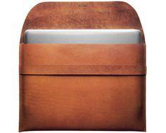 Leather MacBook Air Sleeve - Kaufmann Mercantile