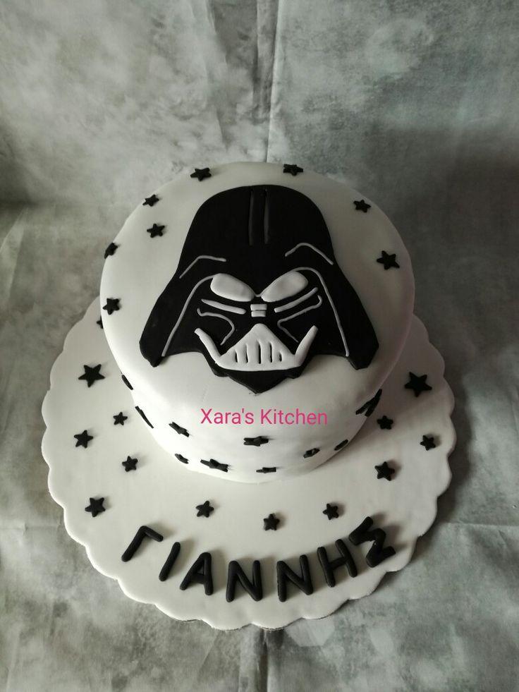 Star Wars cake Xara's Kitchen