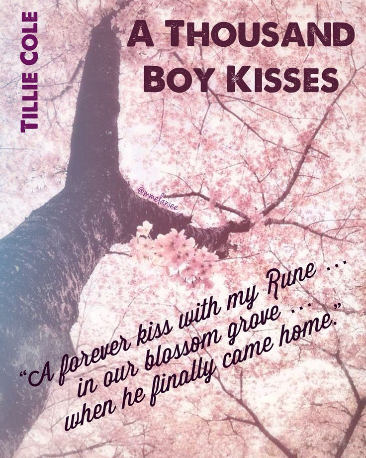 A Thousand Boy Kiss by Tillie Cole is a MUST READ. Their story will bring you to your knees.