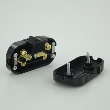 electrical cord switch, in-line switch, inline switch, antique style cord switch, cloth-covered wire switch, Leviton switch