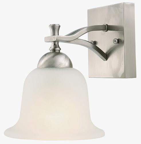 Wall Light Fixtures Menards : Carter 1 Light Wall Mount at Menards Bathroom Pinterest