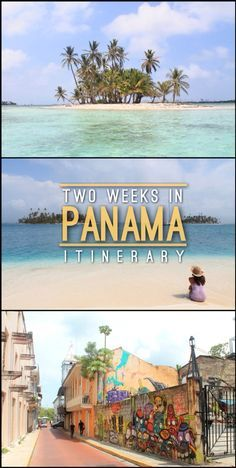 Planning to visit Panama? From the best beaches (San Blas Islands, Bocas del Toro) to the colonial old city, check out the best places to go in two weeks! #Itinerary #Panama #Travel