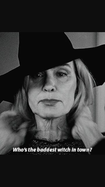 Jesica Lange as Fiona Good in American horror story 'Coven' *_*