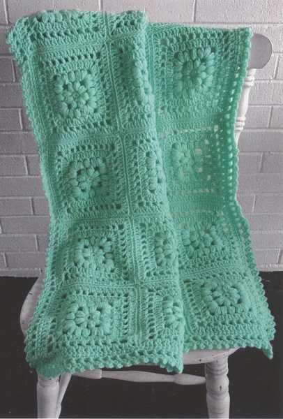 Maggie's Crochet · Baby Puff Square Afghan Crochet Pattern