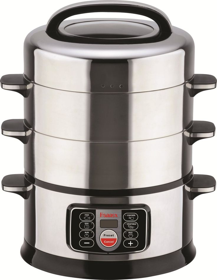 17 Qt. 2-Tier Electric Food Steamer