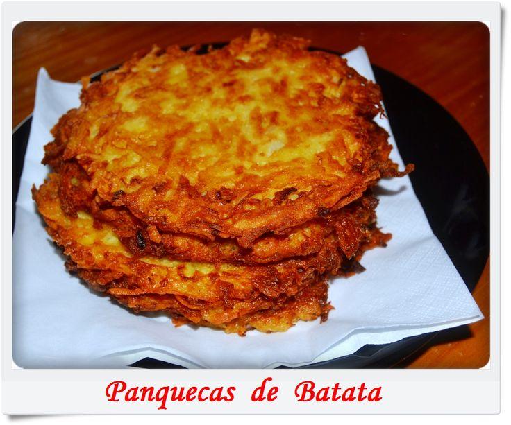 Kartoffelpuffer - Panquecas de Batata