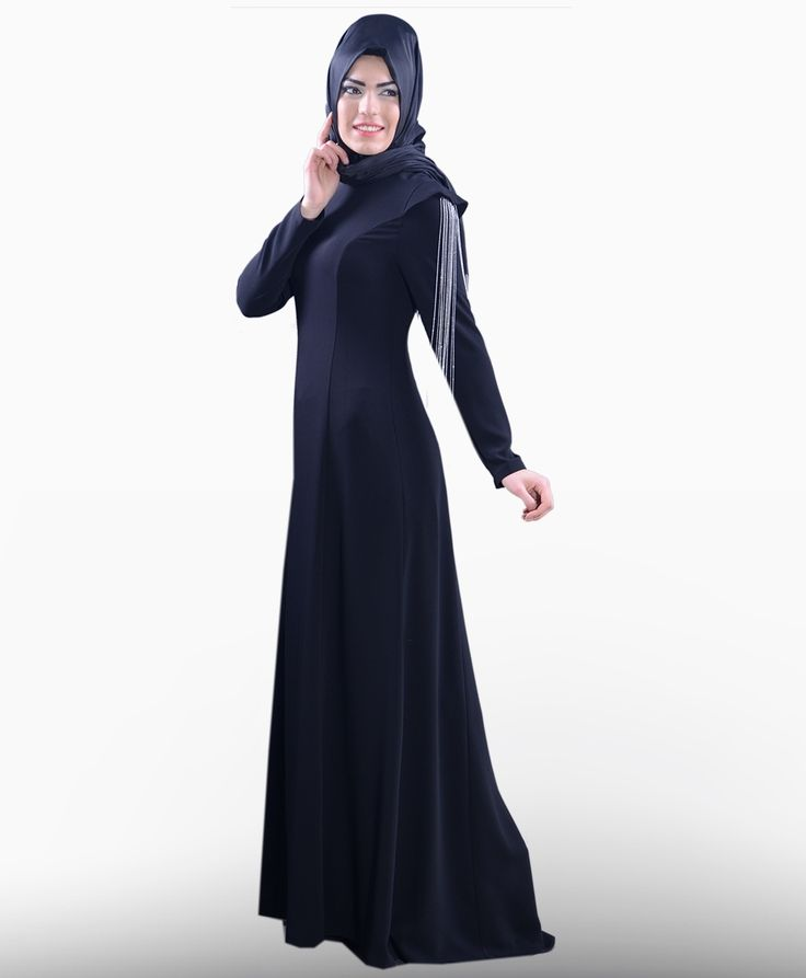 Omuzları Zincirli Elbise - PL1002