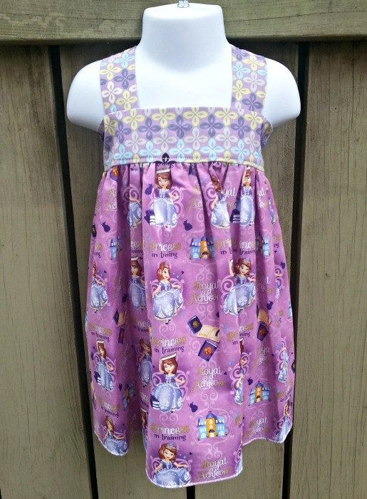 READY TO SHIP Girls Sofia The First Princess by WillowsTreasuresB, $35.00