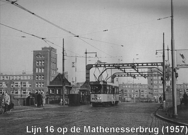 Bruggen Rotterdam (jaartal: 1950 tot 1960) - ik heb daar heel wat stapjes liggen