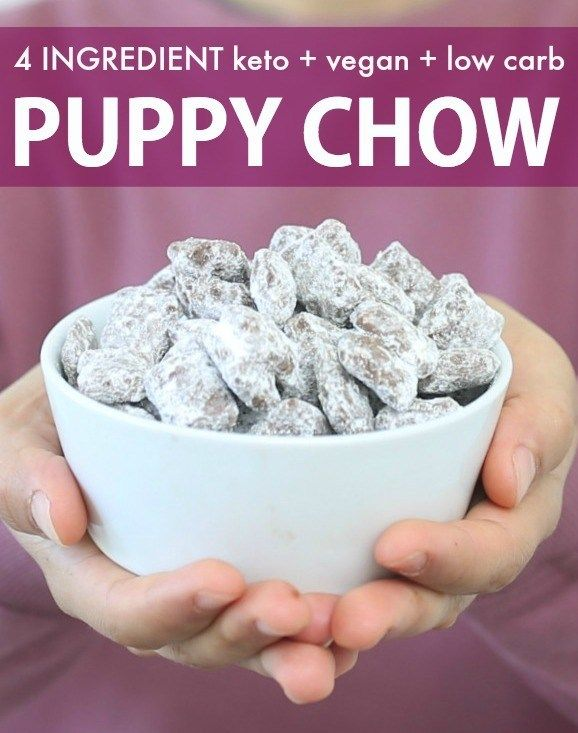 Healthy Low Carb Keto Puppy Chow Vegan Recipe With Images Puppy Chow Recipes Superbowl Desserts Healthy Superbowl Snacks