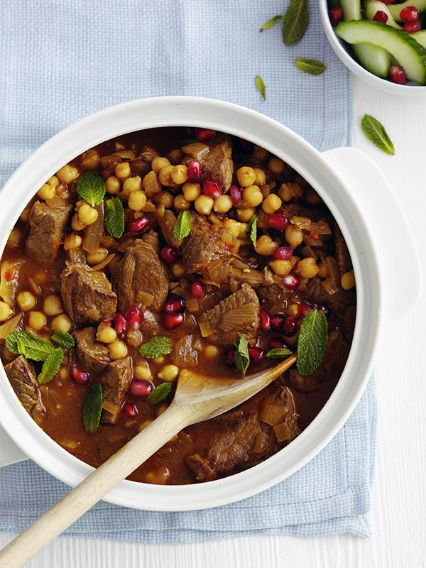 This Persian lamb stew one-pot recipe is really easy and under 500 calories - perfect midweek comfort food.