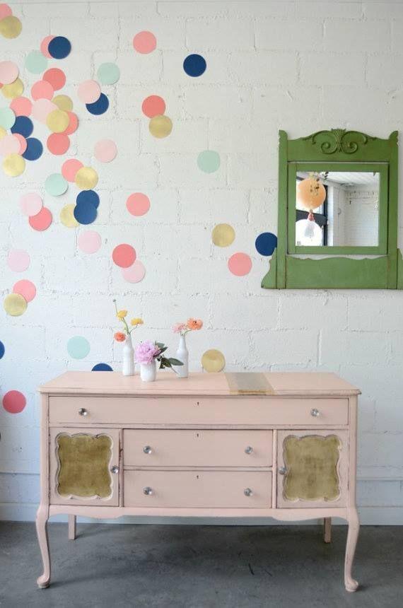 confetti walls?!