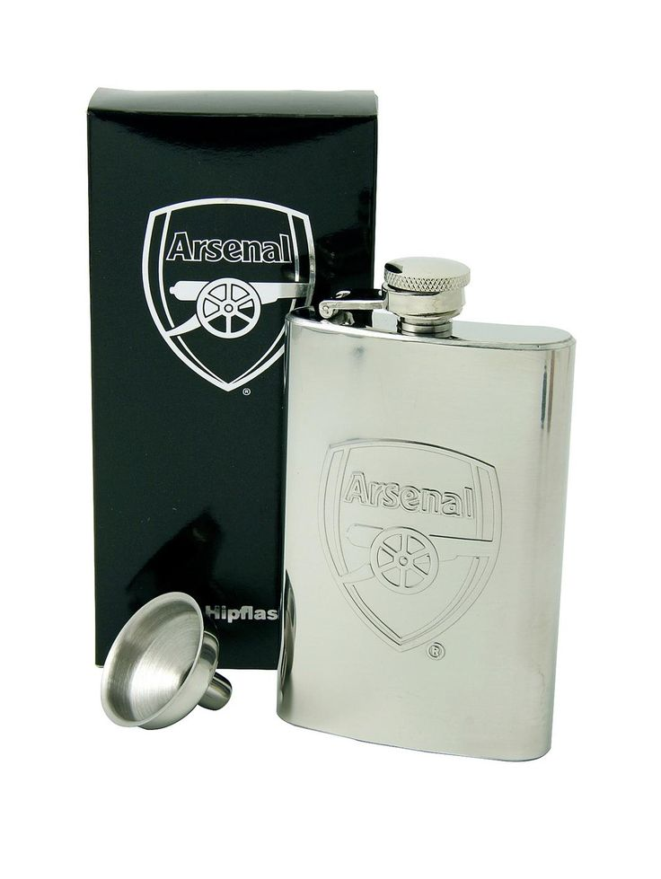 £11 - Personalised Hip Flask, http://www.very.co.uk/arsenal-personalised-hip-flask/1429838229.prd