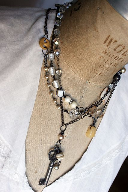 necklace by Rebecca Sower