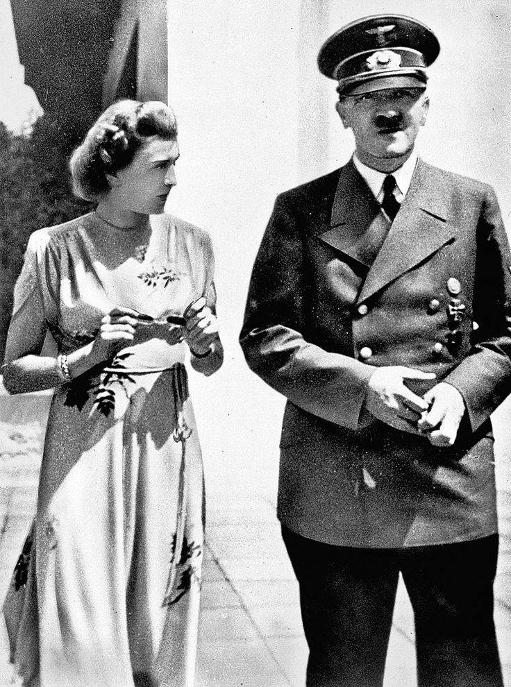 A look at Hitler through the lens of his lover. Mistress of the house: Eva Braun with Hitler at their Bavarian retreat, probably 1944.