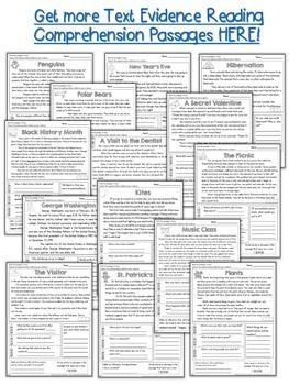 FREE-Text-Evidence-Inferencing-Reading-Passage-1597311 Teaching Resources - TeachersPayTeachers.com