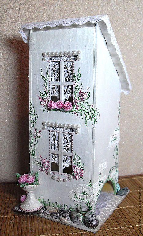 """Купить Чайный домик с прир. камнями """"Два в одном"""" - мятный, розовый, чай, чайный домик"""