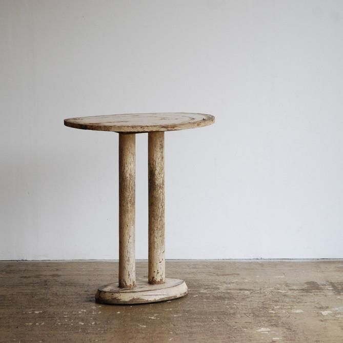 Double Pedestal Side Table