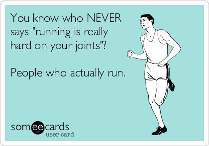 "The number one thing you will ALWAYS hear as a beginner runner is: ""Running damages you knees!"" or ""Running is hard on your joints!"" - It's not necessarily true, Have a look at some of the Debunked myths. http://jbrobinblog.com/2017/02/12/runners-knee/"