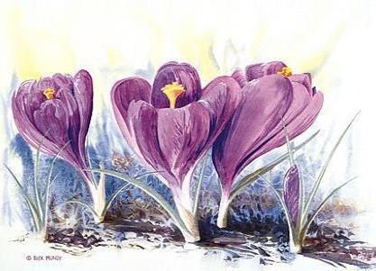 Оригинал схемы вышивки «Предчувствие весны»