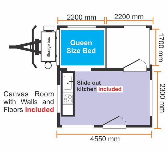 Diy Hard Floor Camper Trailer Plans TheFloorsCo