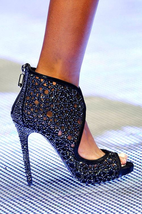 Philipp Plein - Spring/Summer '14 - GORGEOUS, too high for my taste but pretty