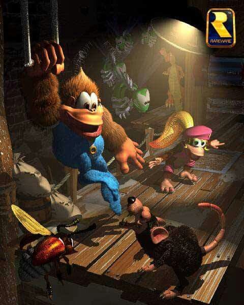 Donkey Kong Country 3 - Dixie Trouble